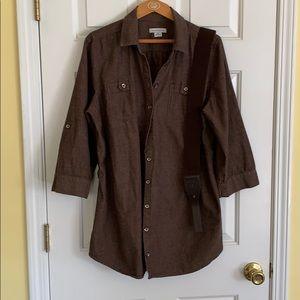 Liz Claiborne safari style shirt.
